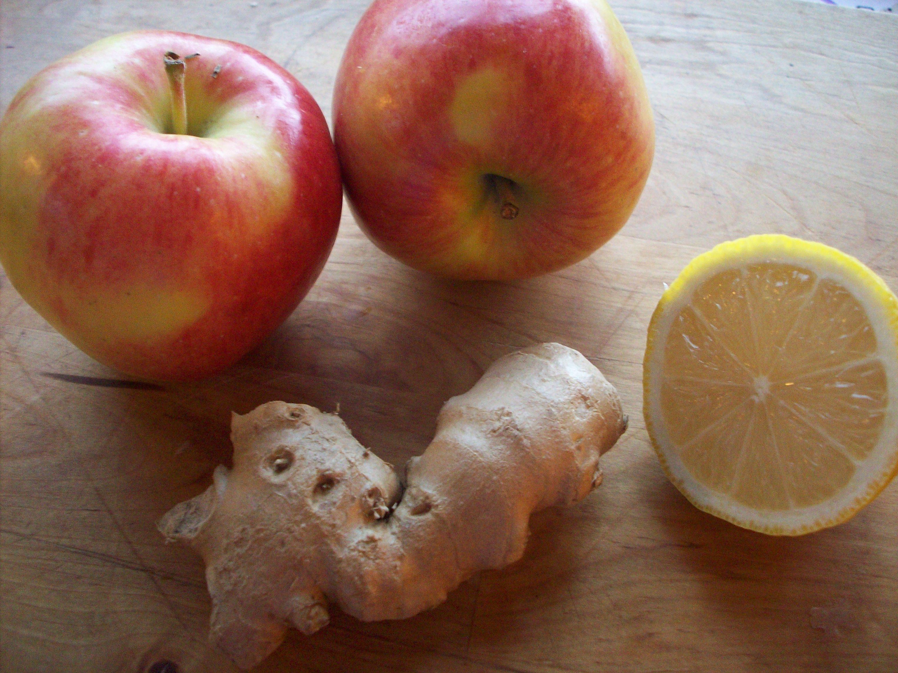 Apple Tart with Lemon & Ginger -