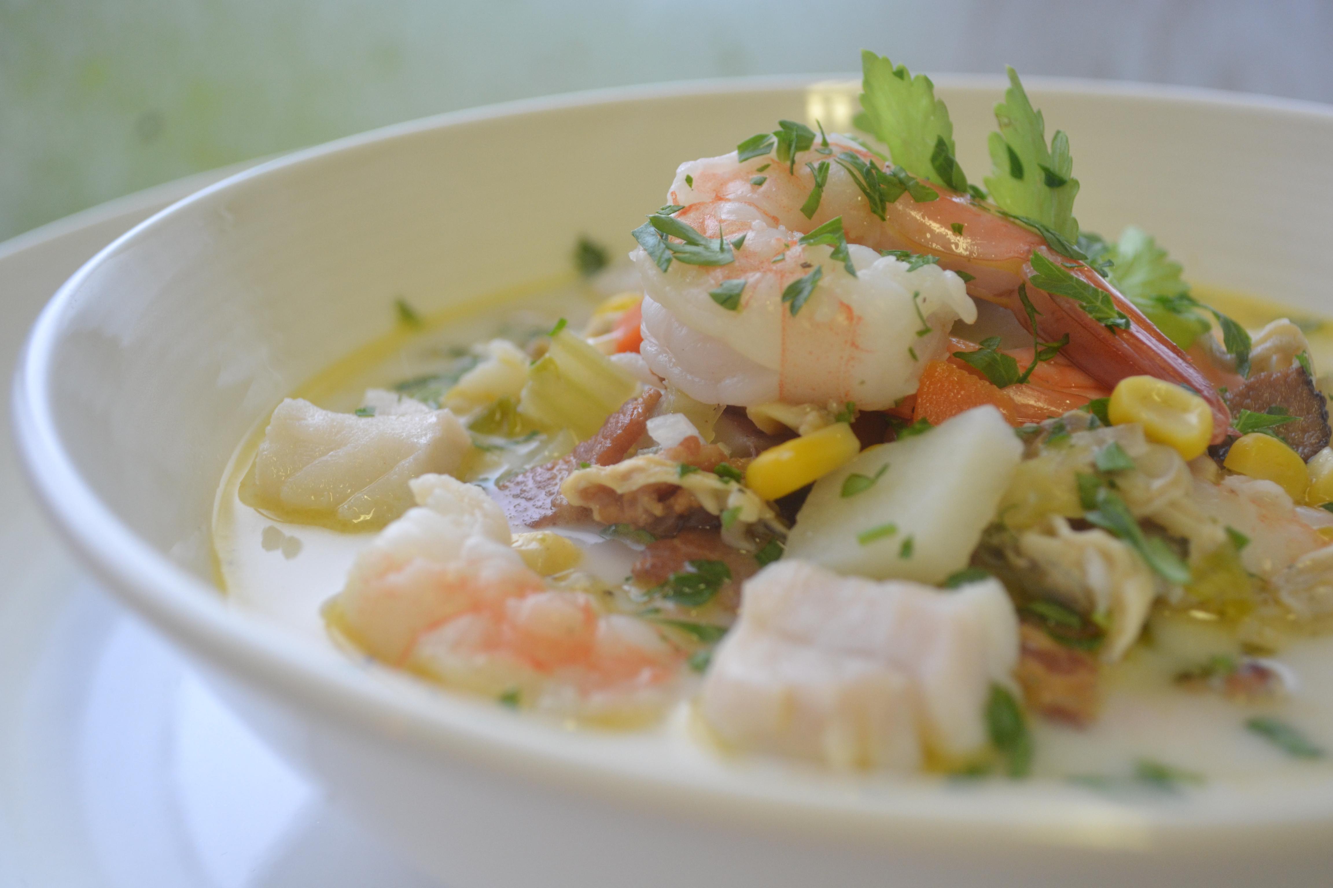 Seafood Chowder -